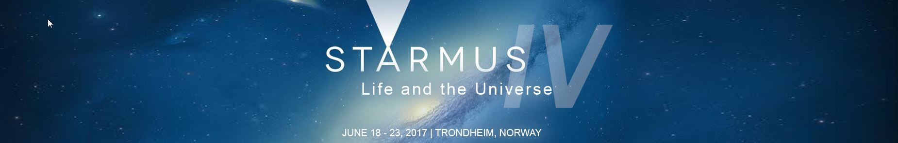 STARMUS – Life and the Universe